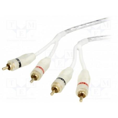 RCA kabel - Basic serija - 3m